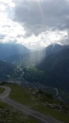 Berge Himmel Licht