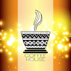 Tea and Coffee time card