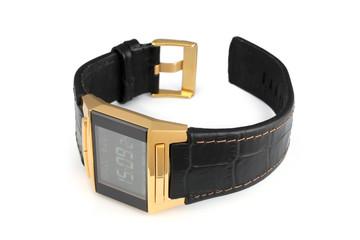 Electronic wristwatch