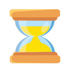 Vector Hourglass Flat Icon