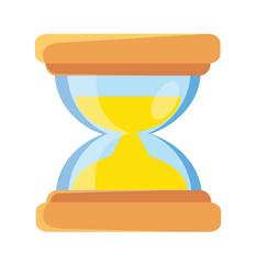 Vector Hourglass Flat Icon