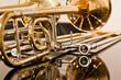 Lying trombone closeup - 68803704