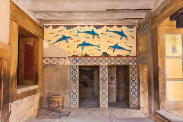 Queen's chamber of Knossos