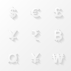 Сurrency icons set
