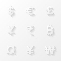 Сurrency icons set