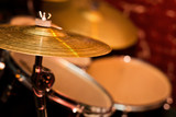Fragment drumset closeup