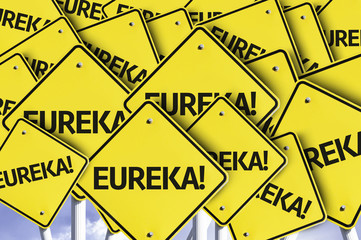 Eureka written on multiple road sign