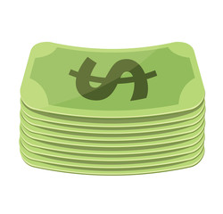 Vector Money Flat Icon