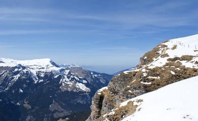 the snowbound rock