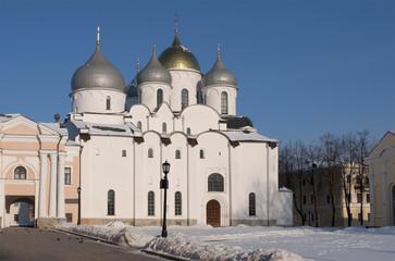 Софийский собор в кремле Великого Новгорода