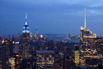 NYC at night