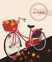 가을자전거