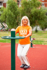 Woman recreation in fitness centar