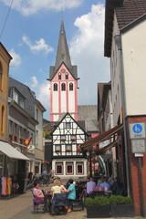 Kempen, Kreis Viersen,Altstadt mit Thomaskirche
