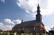 canvas print picture - Church of Tating, Germany