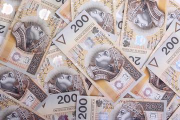 Polish money, financial background.