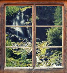 Fensterblick Natur