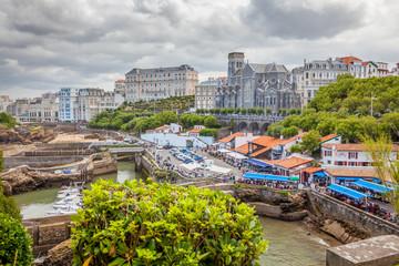 Biarritz : port des Pêcheurs