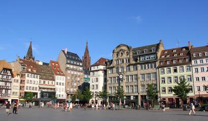 Strasbourg Place Kleber ( Alsace, France)