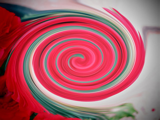 Colorful spiral background image