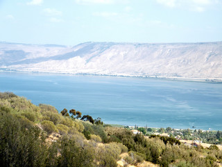 Blue Sea of ​​Galilee 2010