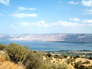 Sea of ​​Galilee 2010
