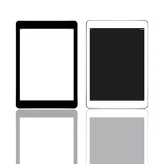 Black and white tablets
