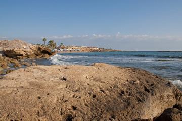 coast line of Pahpos (Cyprus)