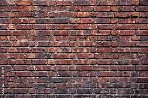 fototapeta na ścianę stary czerwony mur z cegły