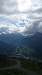 Bergwanderung Himmel und Berge