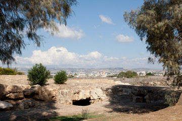 view over Paphos (Cyprus)