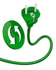 Green plug in