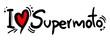 Постер, плакат: Supermoto love