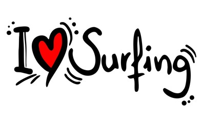 Surfing love