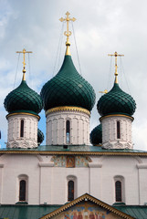 Elijah the Prophet church in Yaroslavl, Russia. UNESCO Heritage.