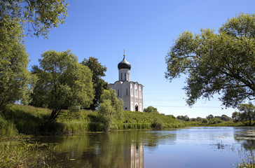 Church of the Intercession on the Nerl. Bogolyubovo, Russia
