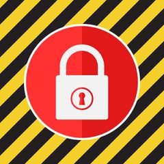 Data protection vector icon