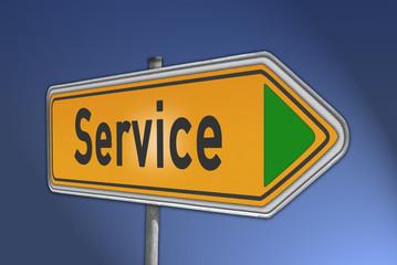 Wegweiser Service