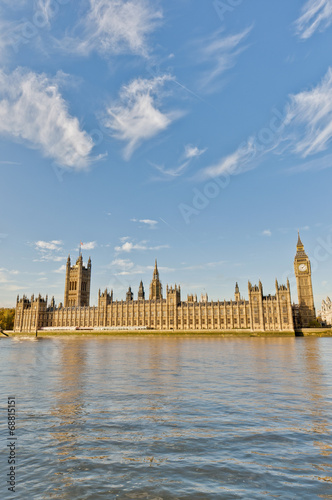 canvas print picture Houses of Parliament at London, England