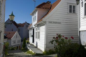 altstadt von bergen, norwegen