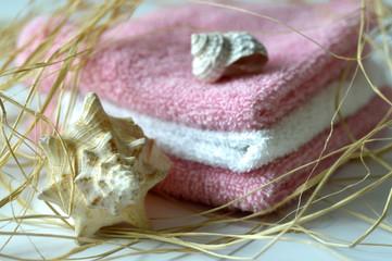 Spa salon towel shell.