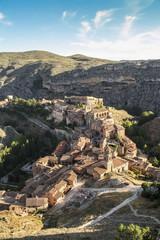 Typical spanish village in Aragon, Albarracin, Spain