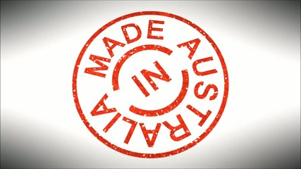 Stempel Made in Australia