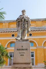 Memorial statue to Garibaldi in Ravenna