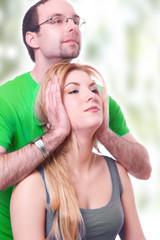 Nackenschmerzen - Physiobehandlung