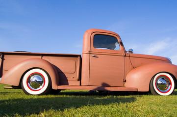 Vintage Oldtimer Classic LKW Transporter