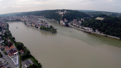 Passau - Drei Flüsse Eck