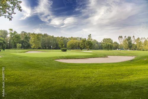 Plexiglas Golf Golf course