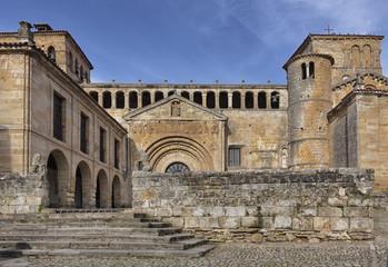 COlegiata de Santillana del Mar. Cantabria.Spain.