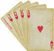 playing cards - straight - vector - 68818356